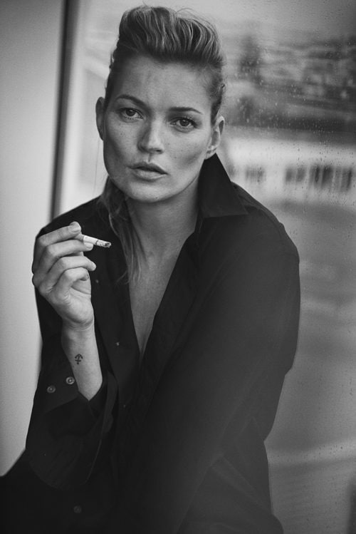 Peter Lindbergh Kate Moss, Paris, 2014