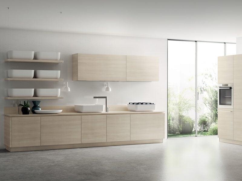 Cucine Moderne Con Isola Scavolini. Cool Modello Di Cucina Rossa Dal ...