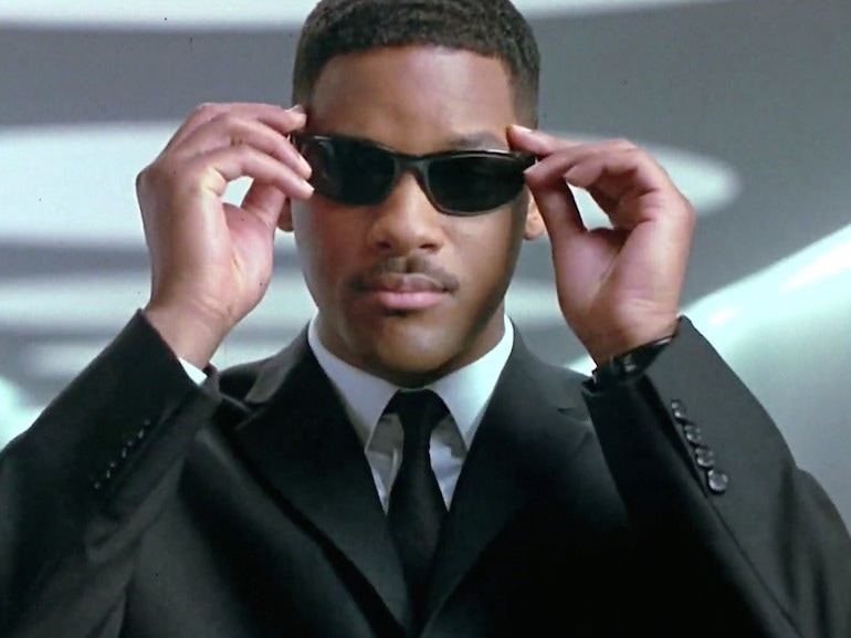 Will Smith Man in Black