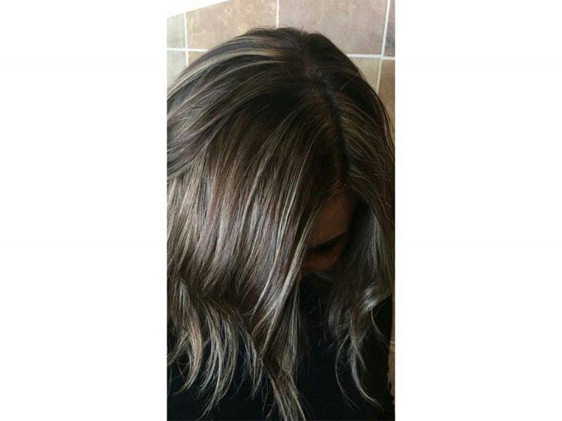 Mushroom brown hair