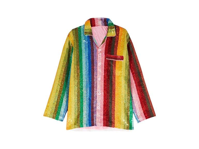 ashish-camicia-rainbow-net