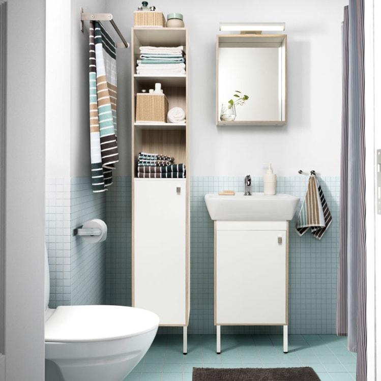 Come arredare il bagno con mobili Ikea - Grazia