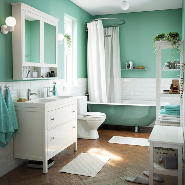 Come arredare il bagno con mobili ikea grazia - Ikea bagno hemnes ...