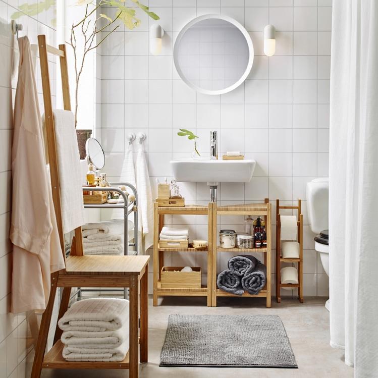 Come arredare il bagno con mobili ikea grazia - Mobiletti per bagno ikea ...