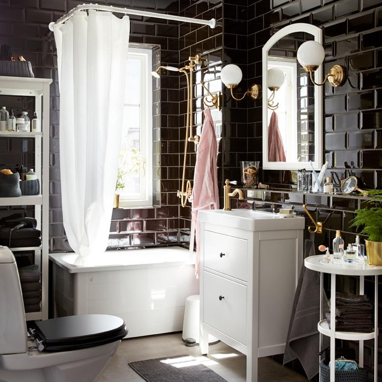 Come arredare il bagno con mobili ikea grazia - Ikea idee bagno ...