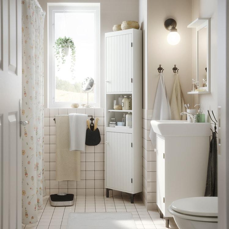 Come arredare il bagno con mobili ikea grazia for Mobiletti bagno ikea