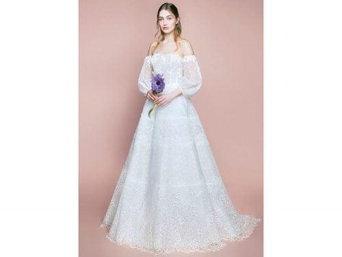 d395b0bcdec9 Abiti da sposa  50 modelli per il 2018 dagli atelier più famosi