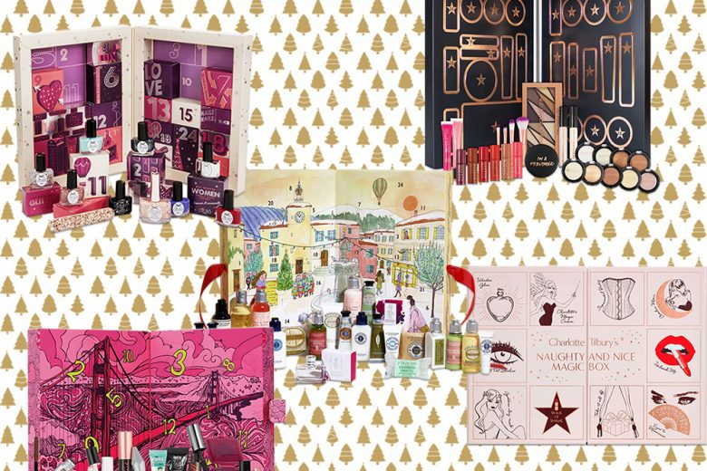 Calendario dell'Avvento beauty e make up 2017: aspettando il Natale in bellezza