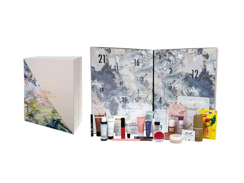 calendario dell'avvento beauty e make up 2017 ASOS