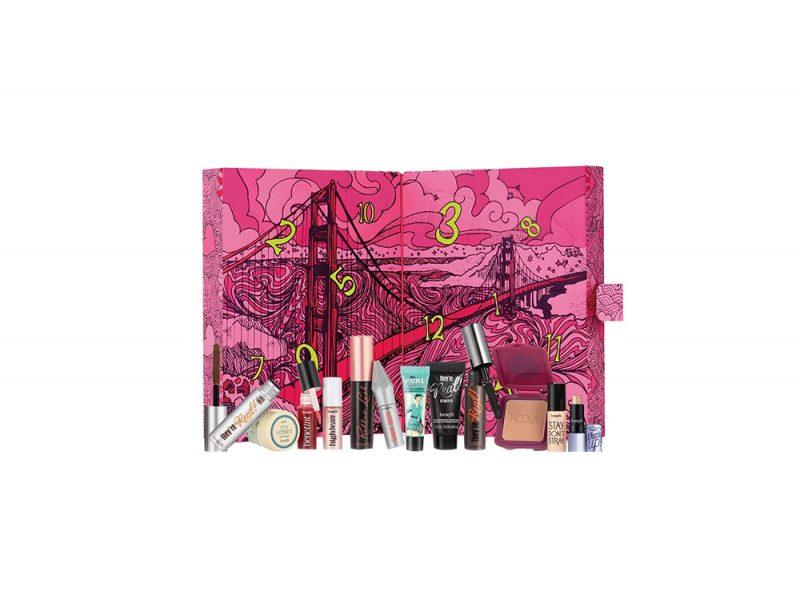 calendario dell'avvento beauty e make up 2017 BENEFIT