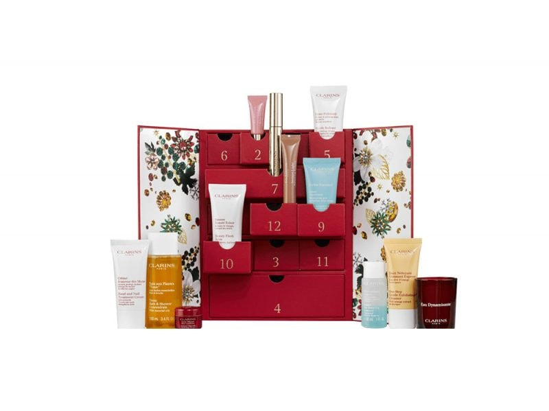 calendario dell'avvento beauty e make up 2017 CLARINS
