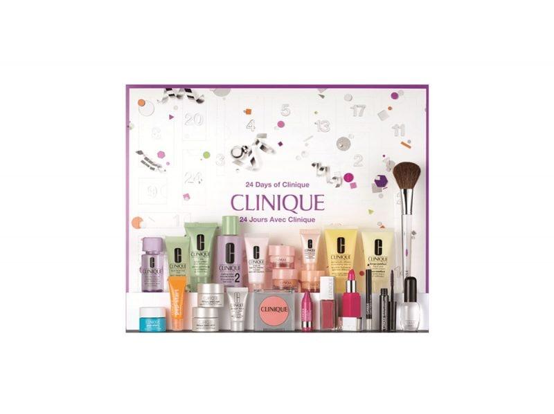 calendario dell'avvento beauty e make up 2017 CLINIQUE
