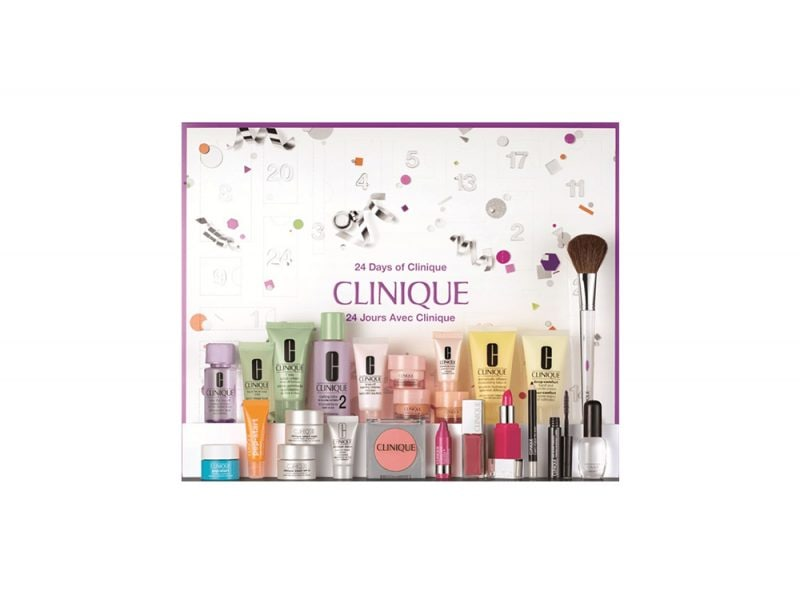calendario dell'avvento beauty e make up 2017 CLINIQUE