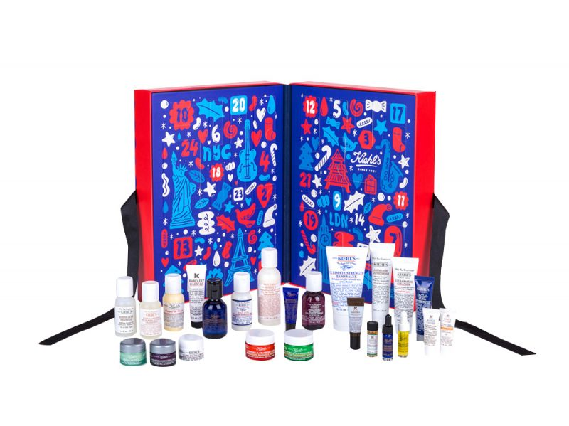 calendario dell'avvento beauty e make up 2017 KIHEL'S