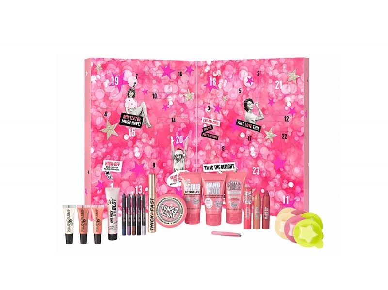 calendario dell'avvento beauty e make up 2017 SOAP AND GLORY