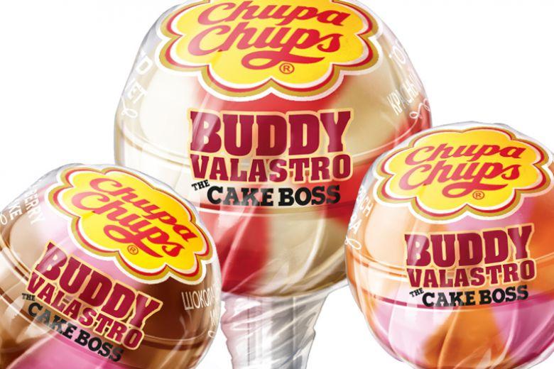 Il Boss delle torte firma i Chupa Chups: arrivano i lollipop di Buddy Valastro