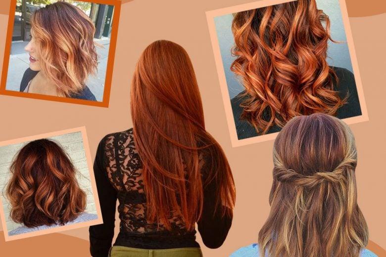 Pumpkin spice hair: il colore capelli di tendenza da provare ora