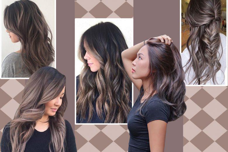Mushroom brown hair: i capelli castano cenere del momento