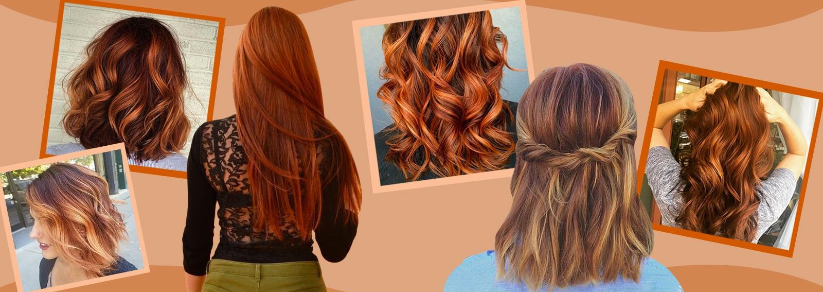 Pumpkin spice hair: il colore capelli di tendenza del momento