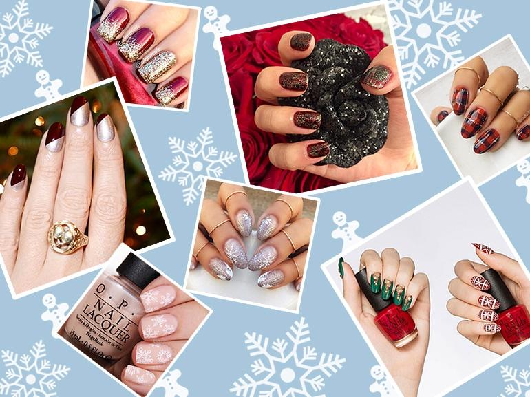 Nail art natalizie: le idee più belle da copiare per le feste