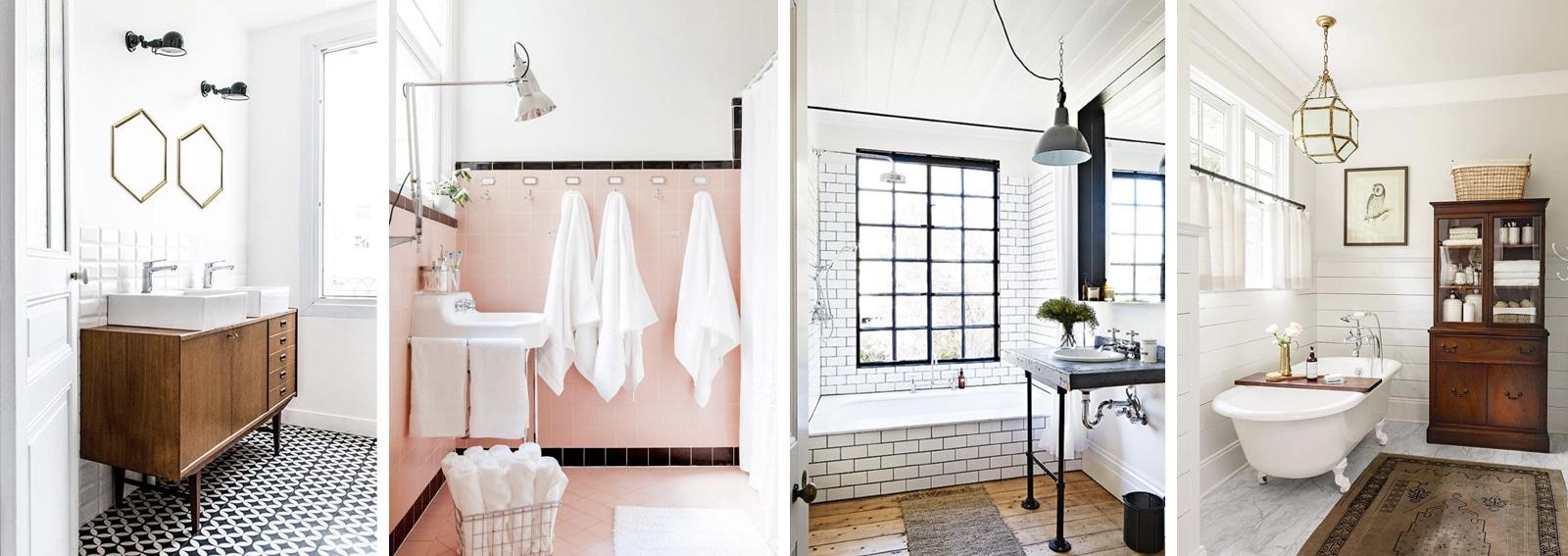 Come arredare il bagno in stile vintage - Grazia