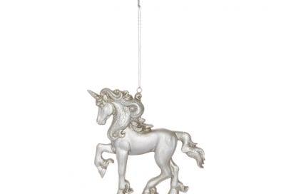 kimball-1505701-unicorn decoration silver, grade missing, wk 01, €2 $2.50