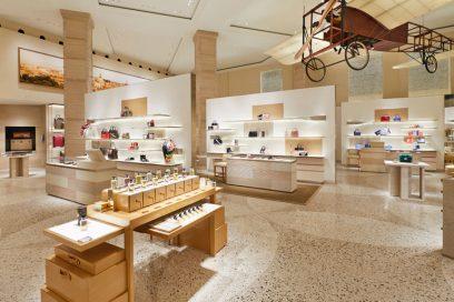 Louis Vuitton: il nuovo store a La Rinascente di via Tritone a Roma