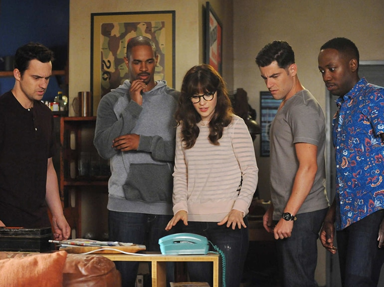 new girl telefono