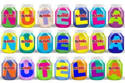 Arriva la nuova limited edition di Nutella (con l'alfabeto)