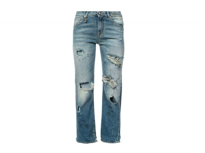 r13-jeans-strappati