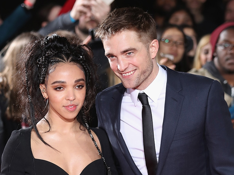 robert pattinson fka twigs red carpet