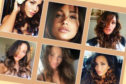 Sofia Valleri: i beauty look della modella italo greca