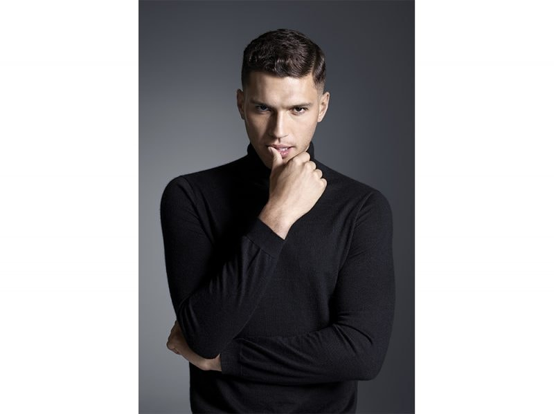 tagli capelli uomo saloni autunno inverno 2017 2018 JEAN LOUIS DAVID