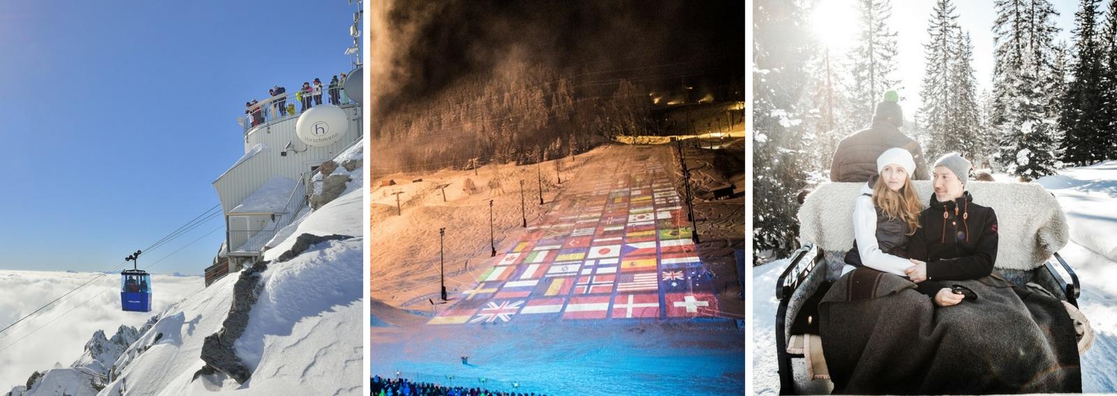 Arlberg Tirolo Austriaco patri sci alpino destinazione jet set internazionale e vip storia dello sci vacanze neve DESK