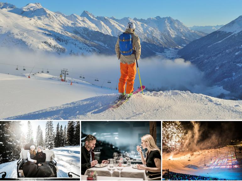 Arlberg Tirolo Austriaco patri sci alpino destinazione jet set internazionale e vip storia dello sci vacanze neve MOBILE
