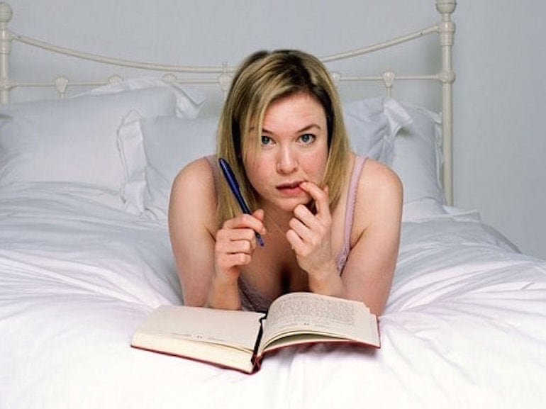 Bridget Jones letto