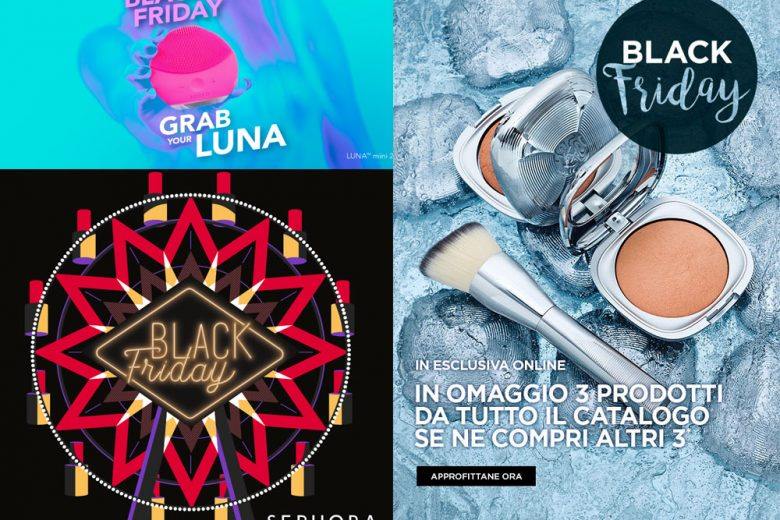 Black Friday 2017: offerte e sconti trucco e beauty da non perdere