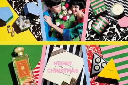 Il Natale di Jo Malone London: coloratissimo, by Jonathan Saunders