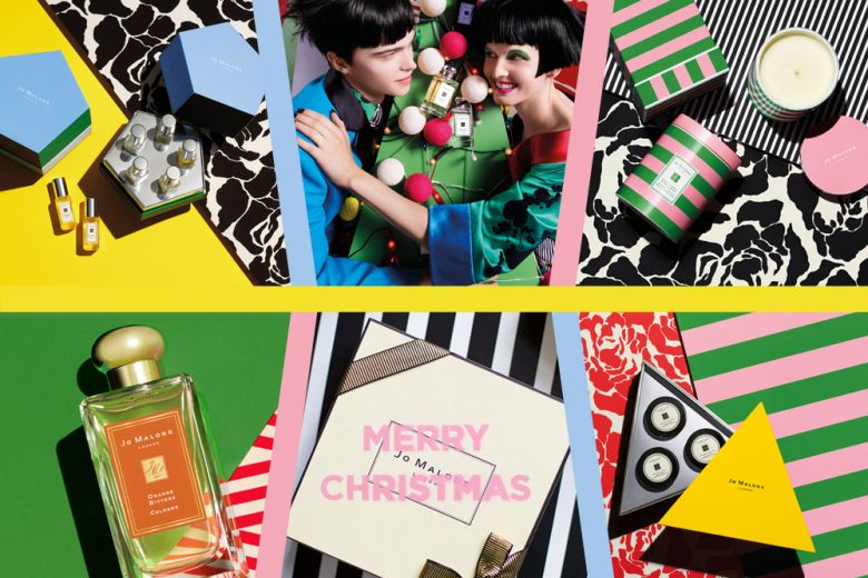 Il Natale di Jo Malone London: coloratissimo, by Jonathan Saunders