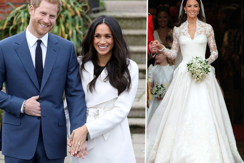 Ecco come sarà l'abito da sposa di Meghan Markle (secondo noi)