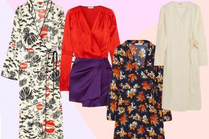 Wrap dress: l'abito da indossare questo inverno