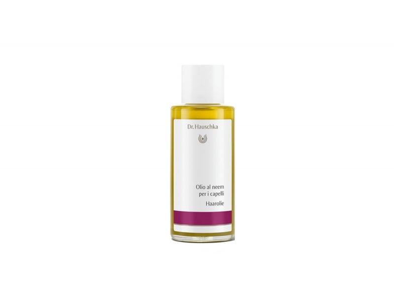 Capelli-luminosi-i-prodotti-giusti-per-una-chioma-splendente-Dr. Hauschka Olio al neem per i capelli