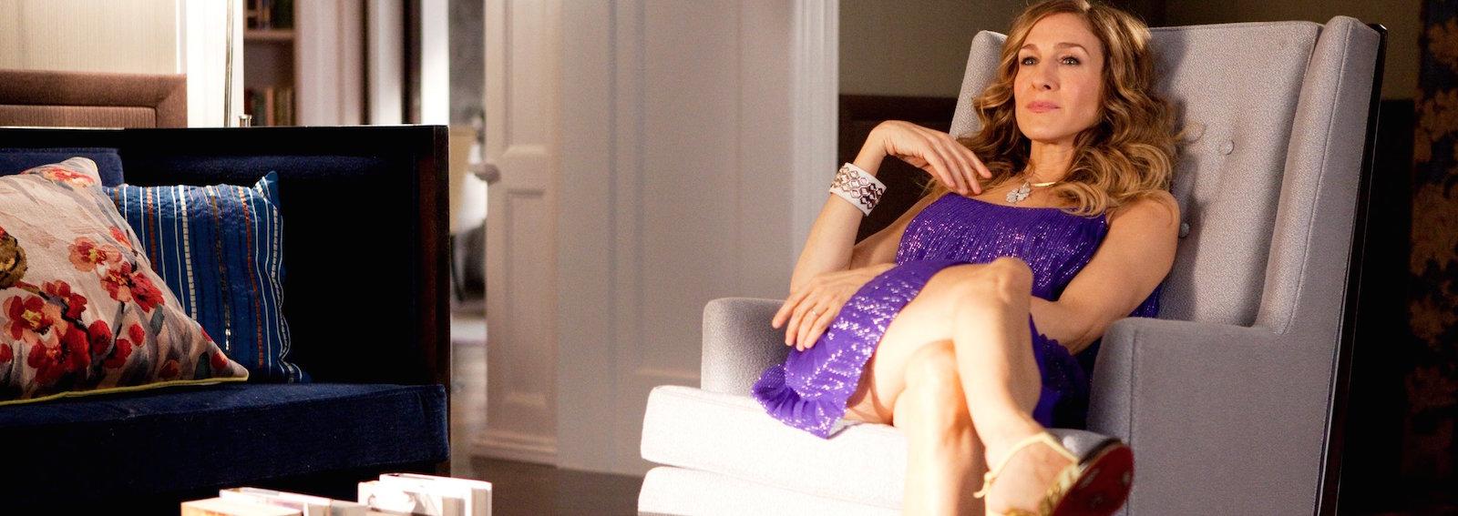 Carrie Bradshaw poltrona