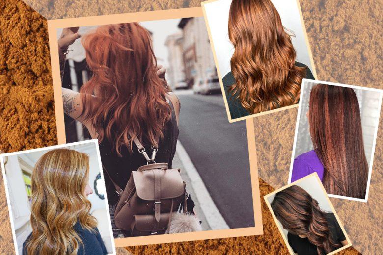 Cinnamon Hair: la tinta capelli color cannella più hot del momento