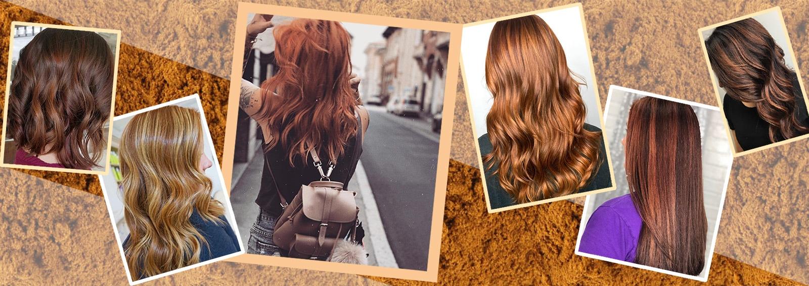 Cinnamon Hair la tinta capelli color cannella più hot del momento collage_desktop