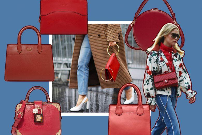 Red Bags: le borse rosse per le feste e non solo