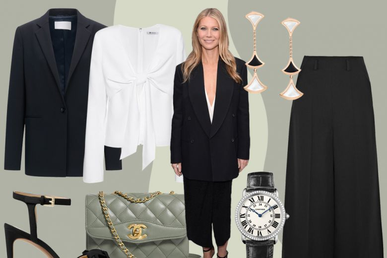 Look maschile con stile come Gwyneth Paltrow