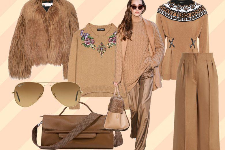 Cammello: il colore per essere eleganti tutto l'inverno