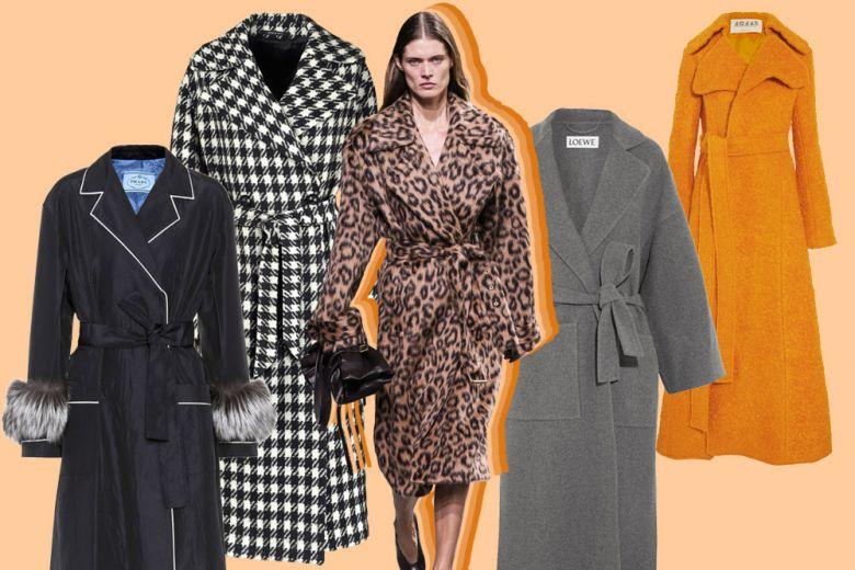 Cappotti a vestaglia: i modelli per un inverno caldo e chic