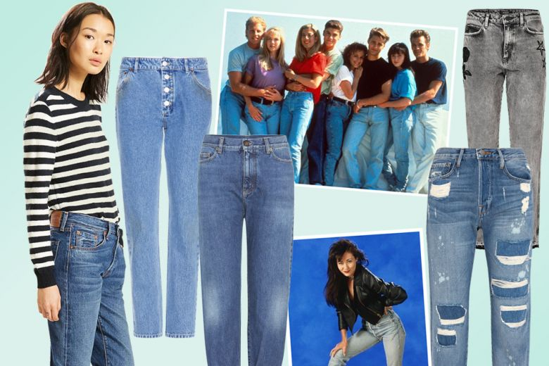 Jeans mom fit: le versioni più cool per l'autunno 2017